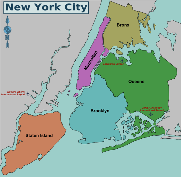 New_York_City_District_Map