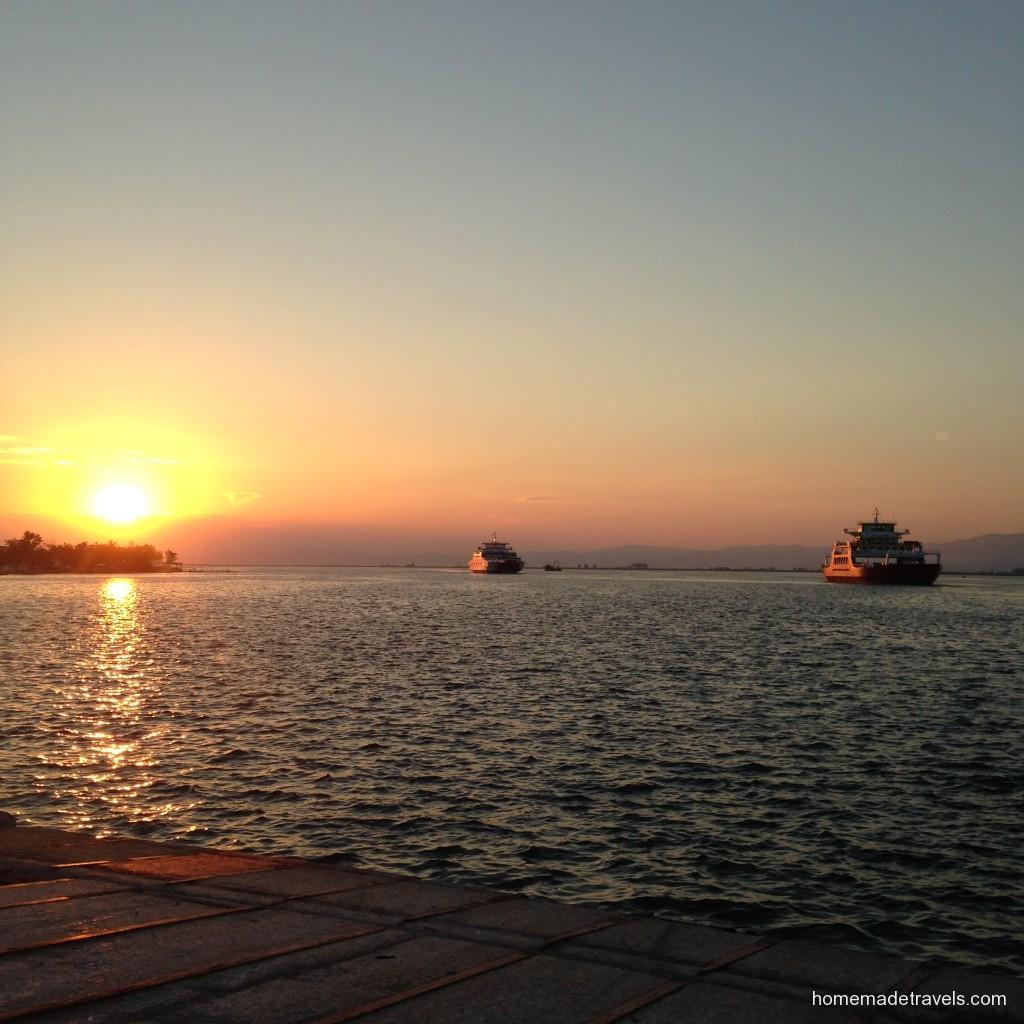 keramotide günbatımı